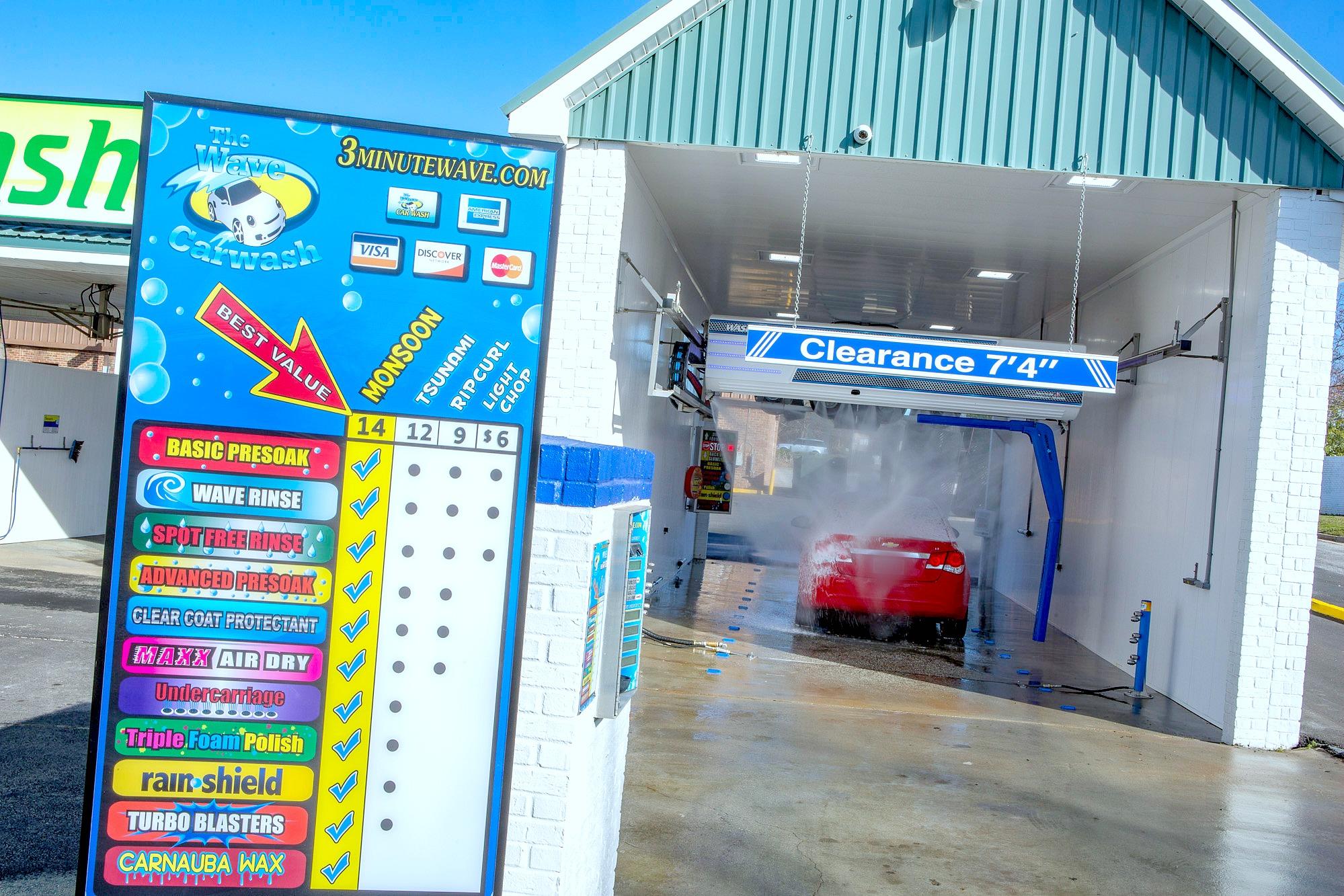Fayetteville self serve about us the wave car wash - Car wash interior shampoo near me ...